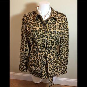 Ralph Lauren jacket/blazer in animal print.